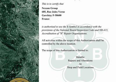 r stamp certification