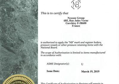 nexson national board certification