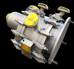 spiral heat exchanger type 3 steam heater